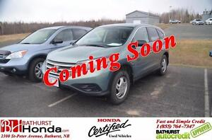 2013 Honda CR-V LX MINT CONDITION!! Certified! AWD! Heated Seats