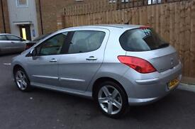09 Peugeot 1.6 308 Sport Low mileage 43k Just serviced and Mot