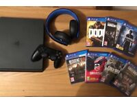 1TB Console and games