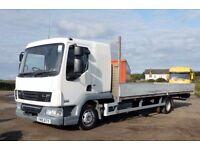 DAF TRUCKS LF 45 7.5 tonne 24ft Dropside Sleeper Cab