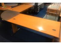 Large Desk Workstation