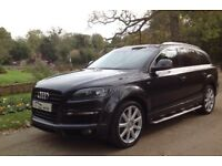 2008 AUDI Q7 3.0TDI S-LINE TIPTRONIC QUATTRO £31K FACTORY UPGRADES IMMACULATE CONDITION
