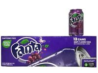 Imported Fanta Berry/Pineapple/Peach/Grape/Apple Strawberry and Mango Case of 12 or 24 or individual