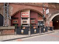 SHED BAR - LEEDS - VACANCIES *Bar Supervisor & Bar Staff
