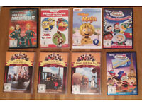 German Kids DVDs, from 2 or 3 years, £2.50 each