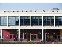 Chef de Partie or experienced Commis chef required at Bordeaux Quay on Bristol's Harbour side