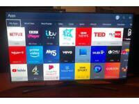 "Samsung UE43J5500 Full HD 1080p Freeview HD Smart LED 43"""