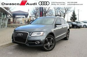 2014 Audi Q5 TDI Progressiv S-line w/ Panoramic Sunroof