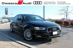 2015 Audi A4 6-Speed quattro w/ Heated Leather Seats