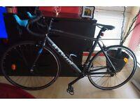 """Bike TRIBAN 500 SE Road Bike Black 57 Large frame (5'9"""" - 6') Like New"""
