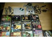 Psone (PS1- PlayStation) console bundle