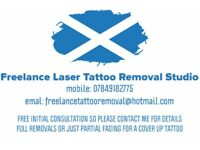 FREELANCE LASER TATTOO REMOVAL STUDIO