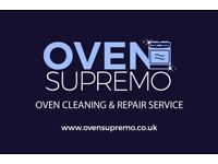 Professional oven cleaning & repair services.