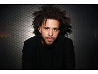 J COLE TICKETS 15th OCTOBER 6 TICKETS AVALIABLE