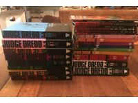 24 Judge Dredd Graphic Novels