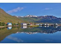 Cook for summer season in one of the most beautiful fjords in Iceland