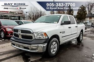 2017 Ram 1500 SXT, HEMI V8, 4X4, 17 WHEELS, A/C, BLUETOOTH
