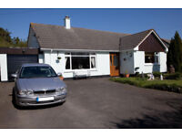 Chalet Bungalow with Annexe, 3 miles outside Barnstaple, Devon.