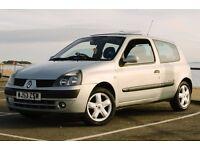 2003 RENAULT CLIO BILLABONG DYNAMIQUE 1.2 16V SILVER