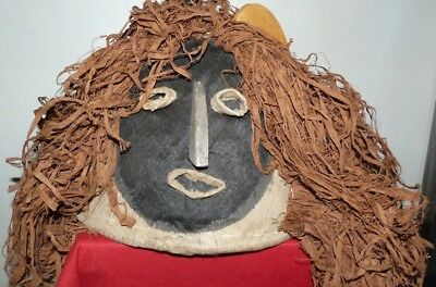 CEREMONIAL TIKUNA BRAZIL AMAZON INDIAN YURUPARY MASK