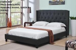 CLASSY FABRIC BEDS ON REDUCED PRICES  (AD 108)