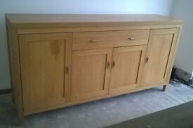 Sideboard, Oak