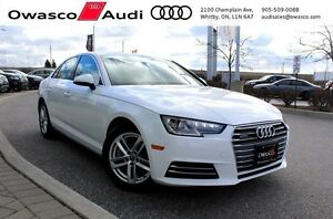 2017 Audi A4 2.0T Komfort w/ Power Glass Sunroof