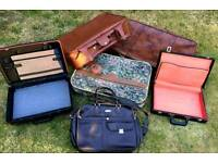 Suitcases/ Bags/briefcases