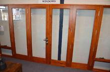 BI FOLD DOORS, SOLID CEDAR TIMBER, FULLY BUILT, 4 PANEL, COMPLETE Vineyard Hawkesbury Area Preview