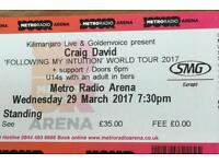 Craig David - Newcastle Gen Admission