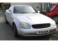 Mercedes SLK Auto - For Sale or swap for van