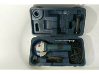 """FREE post cased bosch grinder gws 7-115 professional 240v replaceable brushes 4 1/2"""" 4.5"""""""
