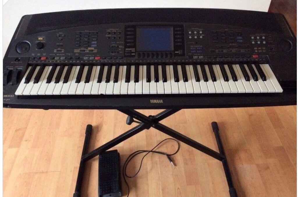 Reduced - Bargain-Yamaha 8000 keyboard with pedal, case,