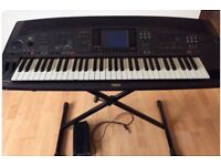 Bargain-Yamaha 8000 keyboard with pedal, case, stand and manual