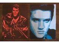 2 X Elvis posters