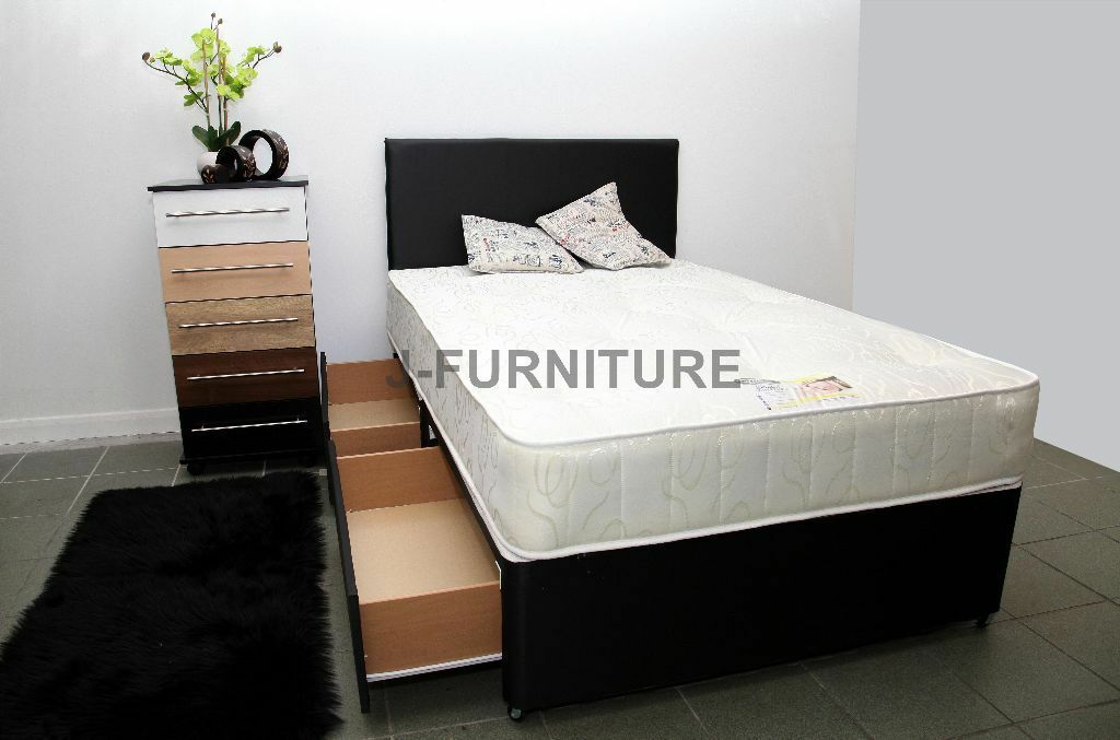 brand new cheapest online divan bed base luxury. Black Bedroom Furniture Sets. Home Design Ideas
