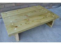 Solid wood caffe table