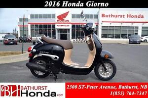 2016 Honda Giorno Smooth and Nimble!! Excellent Fuel Economy!!