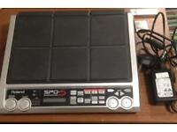 Roland SPD-S sample pad drum pad.