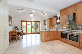 A spacious four bedroom family home to rent located on Faraday Road