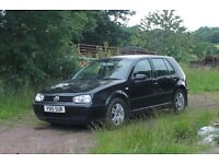 VW Golf MK4 2.0 GTI Petrol Black