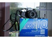 Olympus Cameras OM1 & OM10