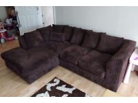 Corner Sofa - excellent condition (less than a year old)