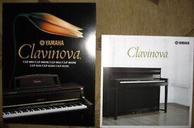 Yamaha CLP 840. Clavinova digital piano