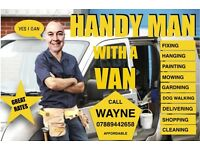 Handyman with a van - Mr Fixit, DIY, Repairs, Collections , Deliveries,