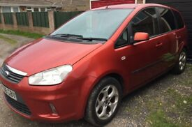 Ford c max zetec, years MOT, parking sensors, tinted windows