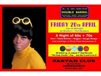 FRIDAY 20th APRIL - 60s 70s SOUL / REGGAE / MOTOWN with DOUBLE BARREL – BISHOPSWORTH