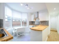 ** Charming two bedroom apartment with private garden for rent **