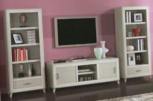 Dettagli su PARETE ATTREZZATA CLASSICA ARTE POVERA PORTA TV PLASMA LCD ...