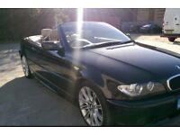 BMW 3 SERIES 2.0 DIESEL - M Sport - Convertible - Black - Cream Leather